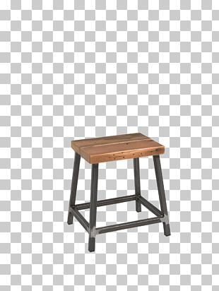 Bar Stool Table Chair Footstool PNG