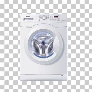 Washing Machines Haier HW100-1479N Home Appliance Clothes Dryer PNG