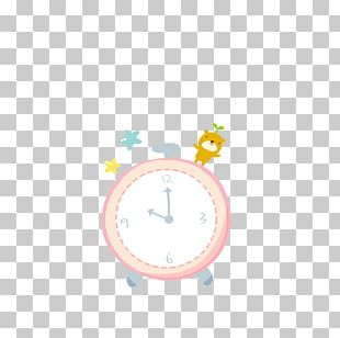 Alarm Clock Photography Typesetting PNG