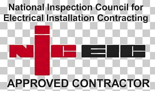 National Inspection Council For Electrical Installation Contracting Electrical Contractors' Association Electrician Electricity PNG