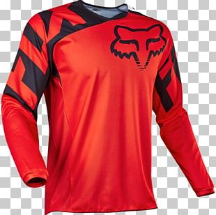 Cycling Jersey Fox Racing Bicycle PNG