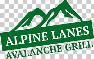Alpine Lanes And Avalanche Grill Logo Brand PNG