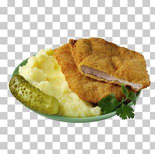 Mashed Potato Cotoletta Schnitzel Cordon Bleu Vegetarian Cuisine PNG