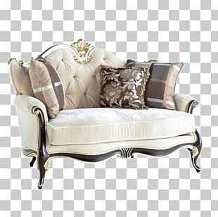 Couch Loveseat Living Room Furniture Bed PNG