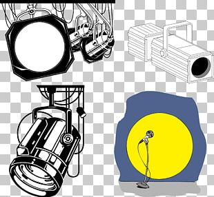 Stage Lighting Lamp PNG
