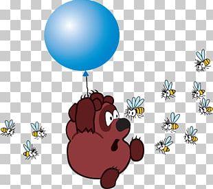 Winnie The Pooh Piglet Eeyore Bee Book PNG