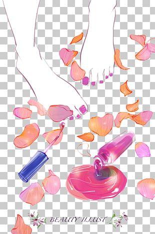 Nail Polish Cosmetics Manicure PNG