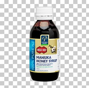 Mānuka Honey Manuka Health Syrup PNG