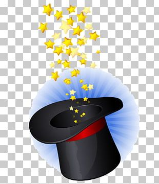 Magic Hat Graphic Design Wand PNG