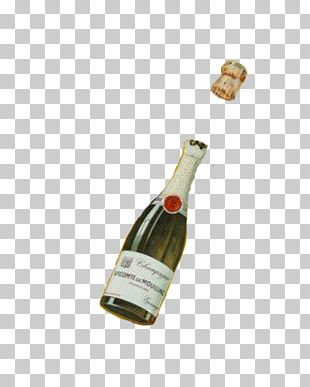 Champagne Bottle Wine PNG