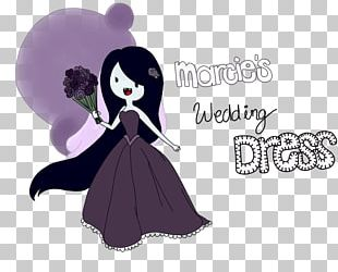 Marceline The Vampire Queen Princess Bubblegum Wedding Dress Bride PNG