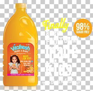 Orange Drink Juice Milkshake Sugar PNG