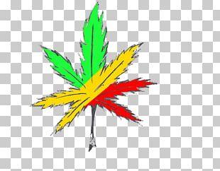 Cannabis Smoking Rastafari Drawing PNG