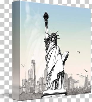 Statue Of Liberty Painting Drawing Pencil PNG
