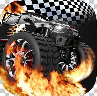 Racing Video Game Rage Monster Truck PNG