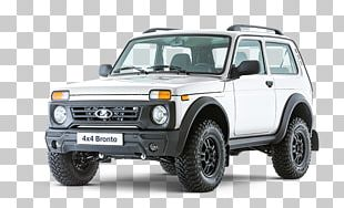 LADA 4x4 PSA Bronto Car Sport Utility Vehicle PNG