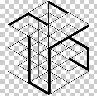 Line Three-dimensional Space Geometry Cube Shape PNG