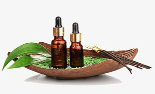 Spa And Aromatherapy Oils PNG
