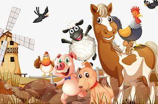 Farm Animals PNG