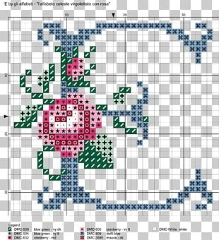 Letter Tapestry Cross-stitch Alphabet Paper PNG