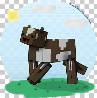 Cattle Drawing Calf Minecraft PNG