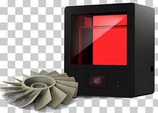 Liquid Crystal 3D Printing Technology PNG
