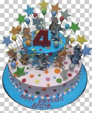 Birthday Cake Frosting & Icing Cream Sugar Cake Torte PNG