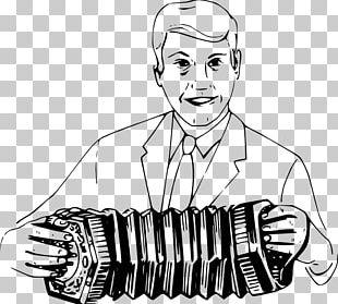 Drawing Musical Instruments Concertina Accordion PNG