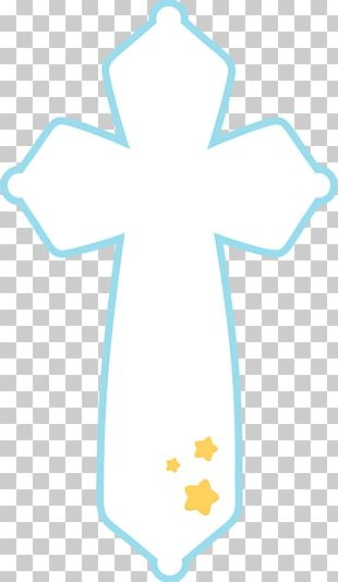 First Communion Eucharist Baptism Cross PNG
