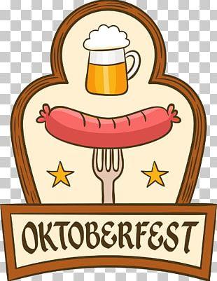 Oktoberfest Beer Sausage German Cuisine PNG
