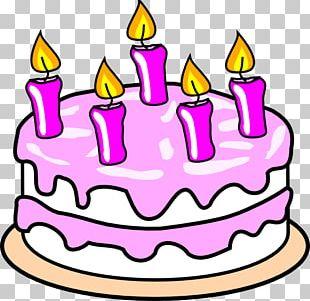 Birthday Cake Tart Cupcake Cream PNG