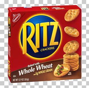 Ritz Crackers Nabisco Food Spread PNG