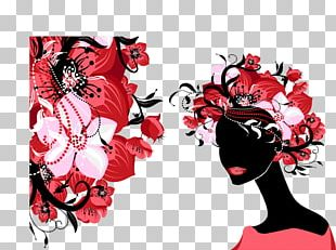 Female Flower Woman PNG