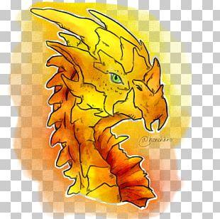 Dragon Cartoon Organism Font PNG
