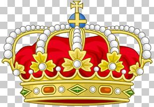 Spanish Royal Crown Coroa Real Monarch Royal Cypher PNG