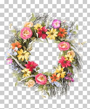 Floral Design Wreath Cut Flowers Flower Bouquet PNG