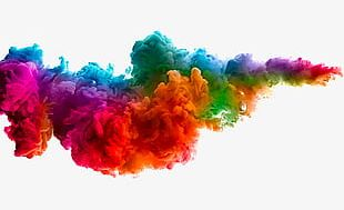 Creative Colorful Clouds PNG