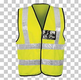 Gilets T-shirt High-visibility Clothing Waistcoat Sleeve PNG