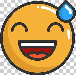Smiley Emoticon Face With Tears Of Joy Emoji Emotion PNG