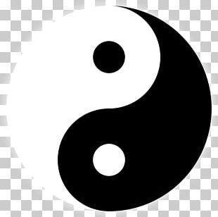 Good And Evil Yin And Yang Symbol PNG