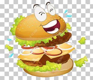 Hamburger Cheeseburger French Fries Fast Food PNG