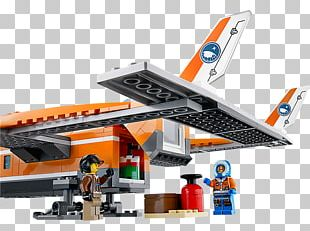 Lego City Airplane Toy Arctic Ice Crawler PNG
