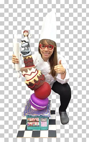 Pastry Chef Figurine PNG