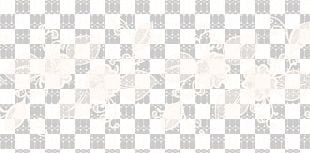 White Cloud Line Pattern PNG