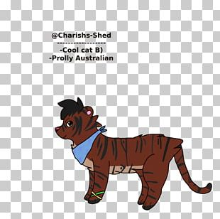 Dog Cat Horse Mammal Cartoon PNG