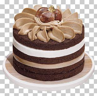 German Chocolate Cake Mousse Pound Cake PNG
