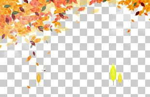 Autumn Template Computer File PNG