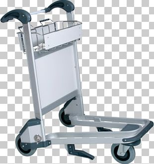 Baggage Cart Trolley Airport PNG