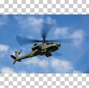 Helicopter Rotor Boeing AH-64 Apache Aircraft Military Helicopter PNG
