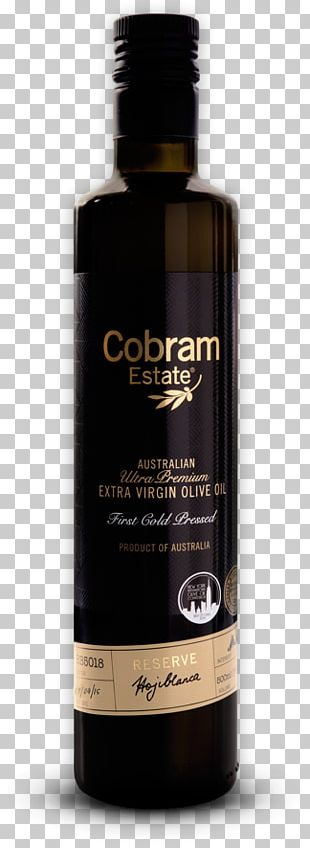 Liqueur Glass Bottle Cobram Olive Oil Picual PNG